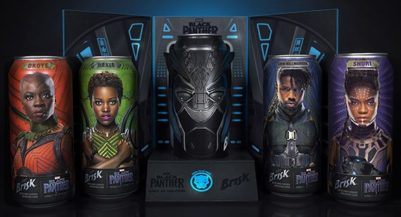 I personaggi del film Black Panther stampati in 3D di Protolabs